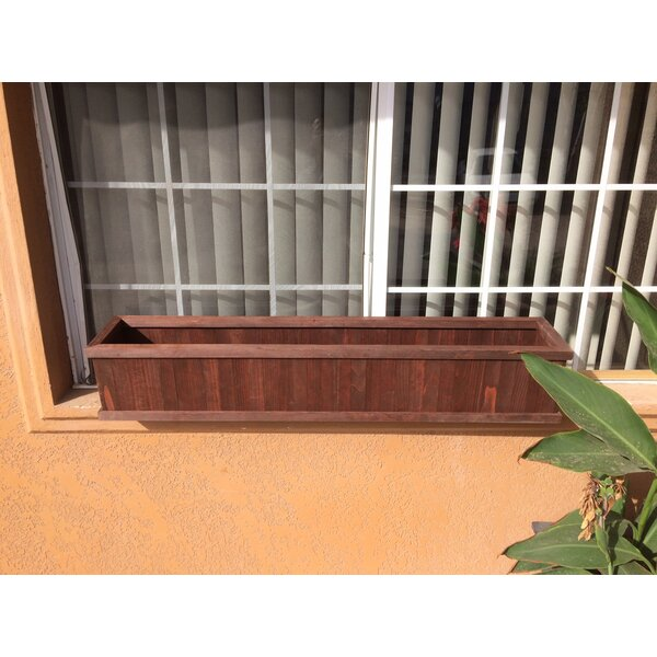 Window Wood Box Planter by Best Redwood
