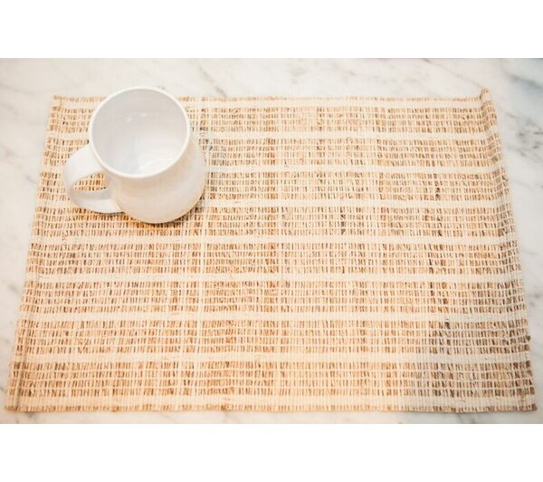 Jute I Placemat (Set of 4) by Imagine Home