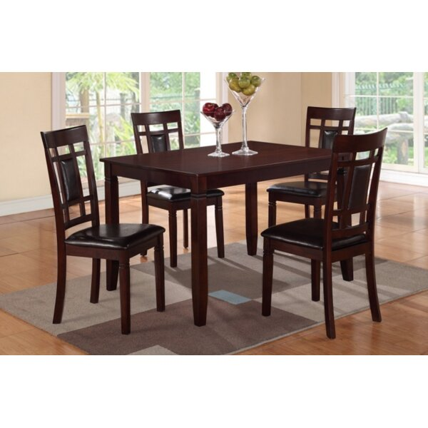 Amot 5 Piece Dining Set by Red Barrel Studio