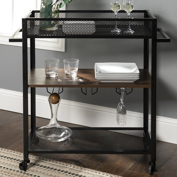 Bowie Bar Cart by Williston Forge