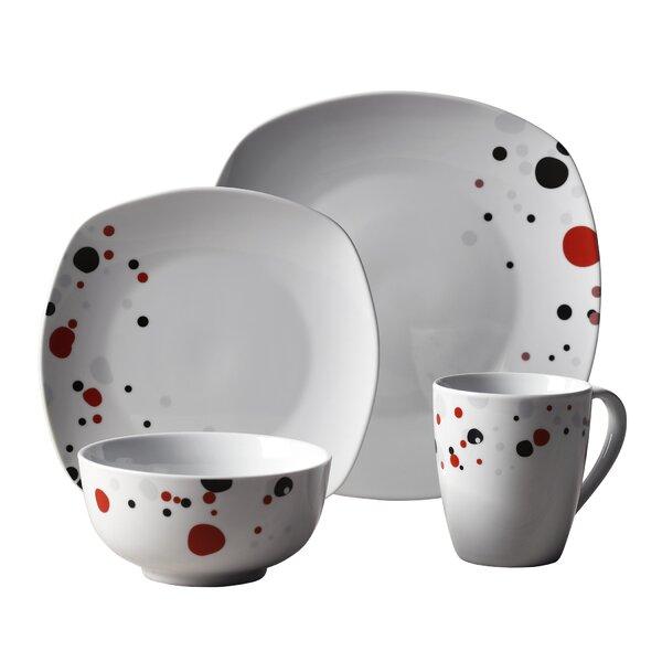 Easton 16 Piece Dinnerware Set, Service for 4 by Ebern Designs