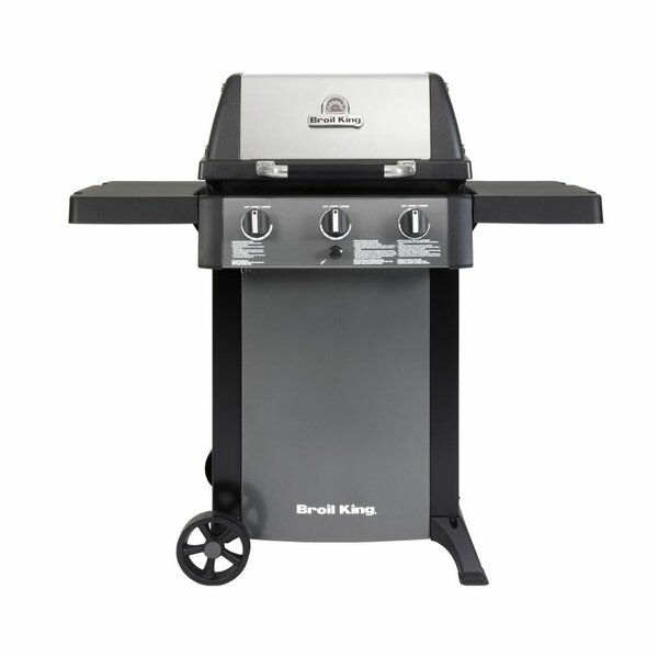 Gem 320 3-Burner Liquid Propane Gas Grill by Broil King