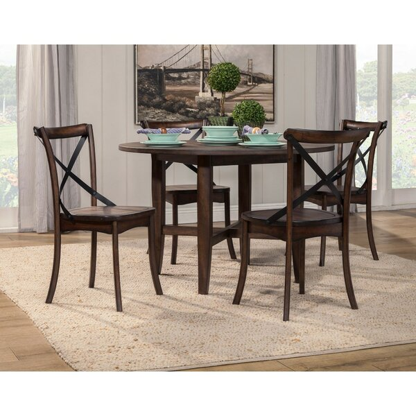 Arsen Solid Wood Dining Table by Gracie Oaks