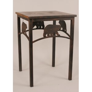 Rustic Living End Table by..