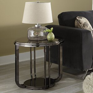 Bernadette Round End Table by Kingstown Home