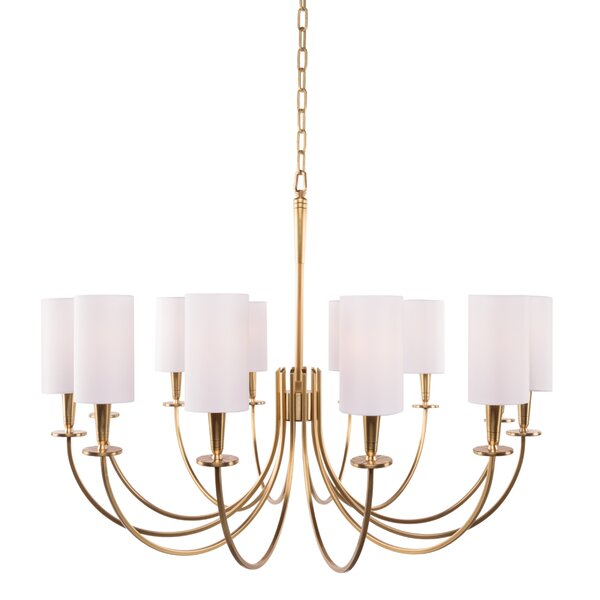 Regents 12-Light Shaded Chandelier by Canora Grey