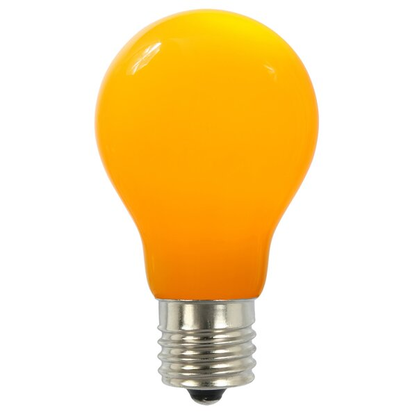 12W Yellow E26 LED Light Bulb by Vickerman