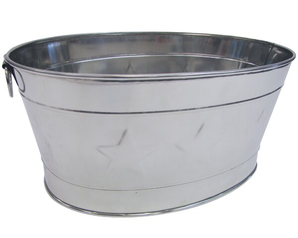 Lotta Stainless Steel Beverage Tub by Laurel Found