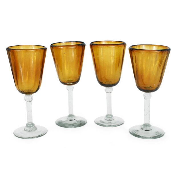 9 Oz. Glass (Set of 4) by Novica