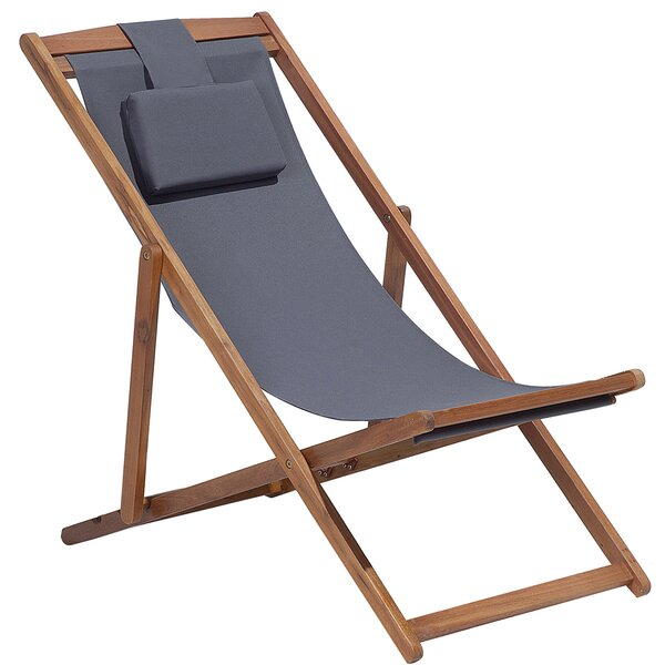 Marcello Reclining Chaise Lounge with Cushion