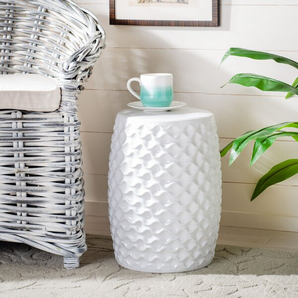 Newville Ceramic Garden Stool By Brayden Studio