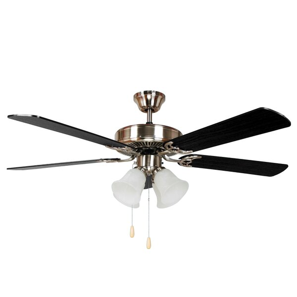 52 Cedar Drive 5 Blade Ceiling Fan by Charlton Home