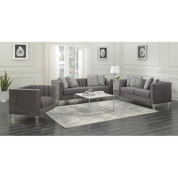 Fenn Channeled Configurable Living Room Set by Ivy Bronx