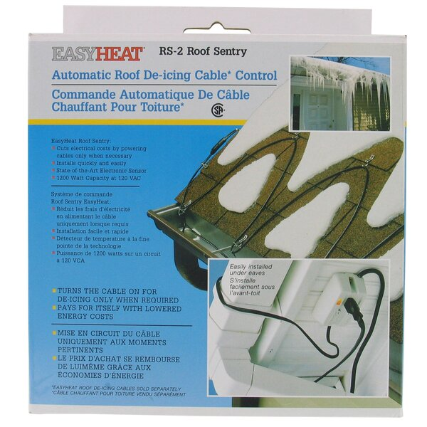 1200 Watt Automatic Roof De Icing Cable Control RS-2 By EasyHeat