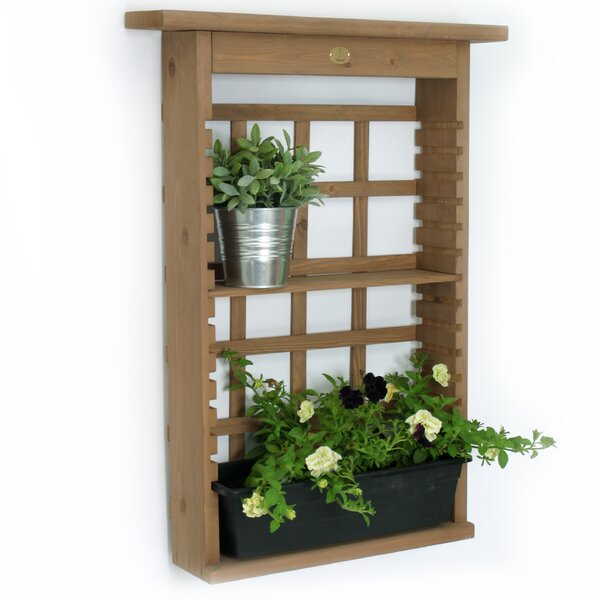Garden View Plastic Wall Planter by Algreen