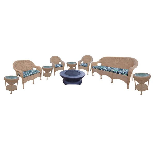 9 Piece Sofa Set with Cushions by Oakland Living