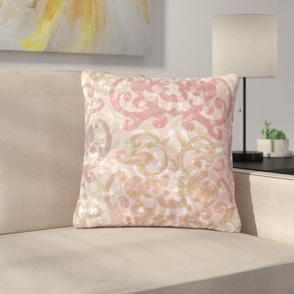 Chickaprint Chintz Outdoor Throw Pillow by East Urban Home