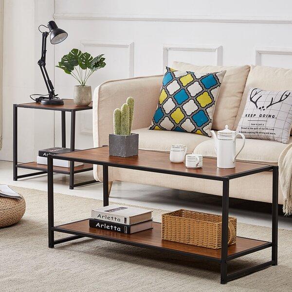 Aliyah 2 Piece Coffee Table Set