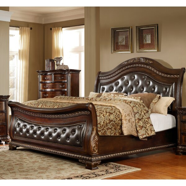 Medellin Upholstered Sleigh Bed by Astoria Grand