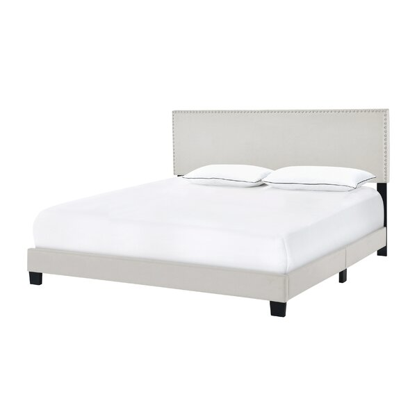 Hillenbrand Upholstered Standard Bed by House of Hampton