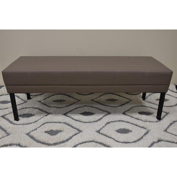 Keila Reception Upholstered Bench by Ebern Designs