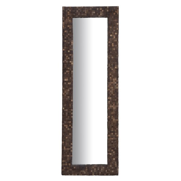 Mcmillan Mosaic Floor Full Length Mirror by Bay Isle Home