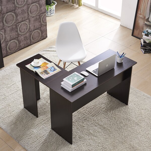 Oldenburg L Shaped Executive Desk by Latitude Run