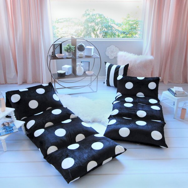 Baye Polka Dot Pillow Cover by Harriet Bee