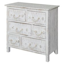 Mansbury Shell 6 Drawer Chest by Rosecliff Heights