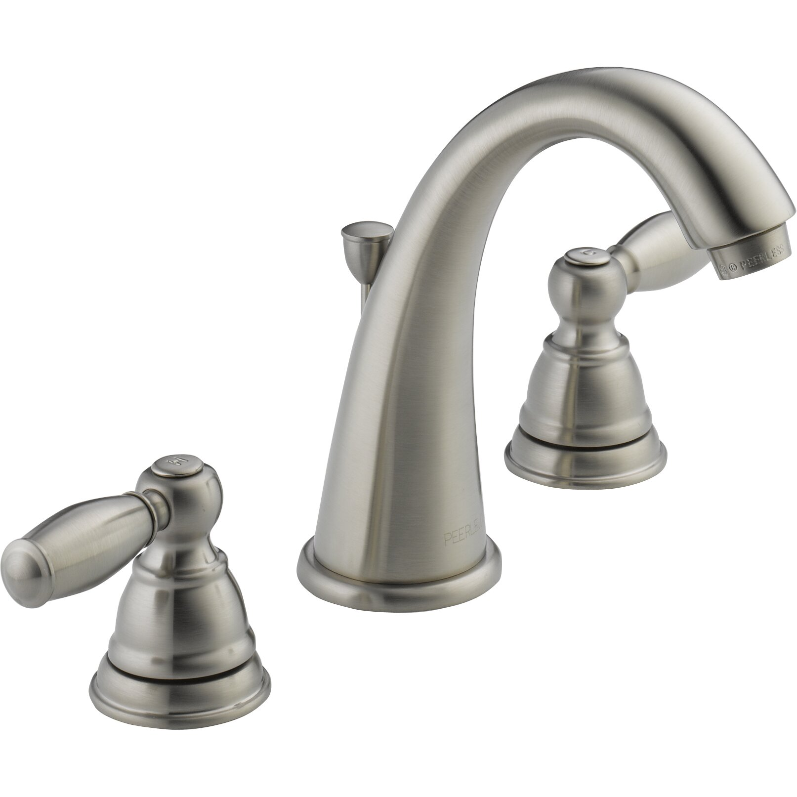 Peerless Faucets Widespread Bathroom Faucet With Double