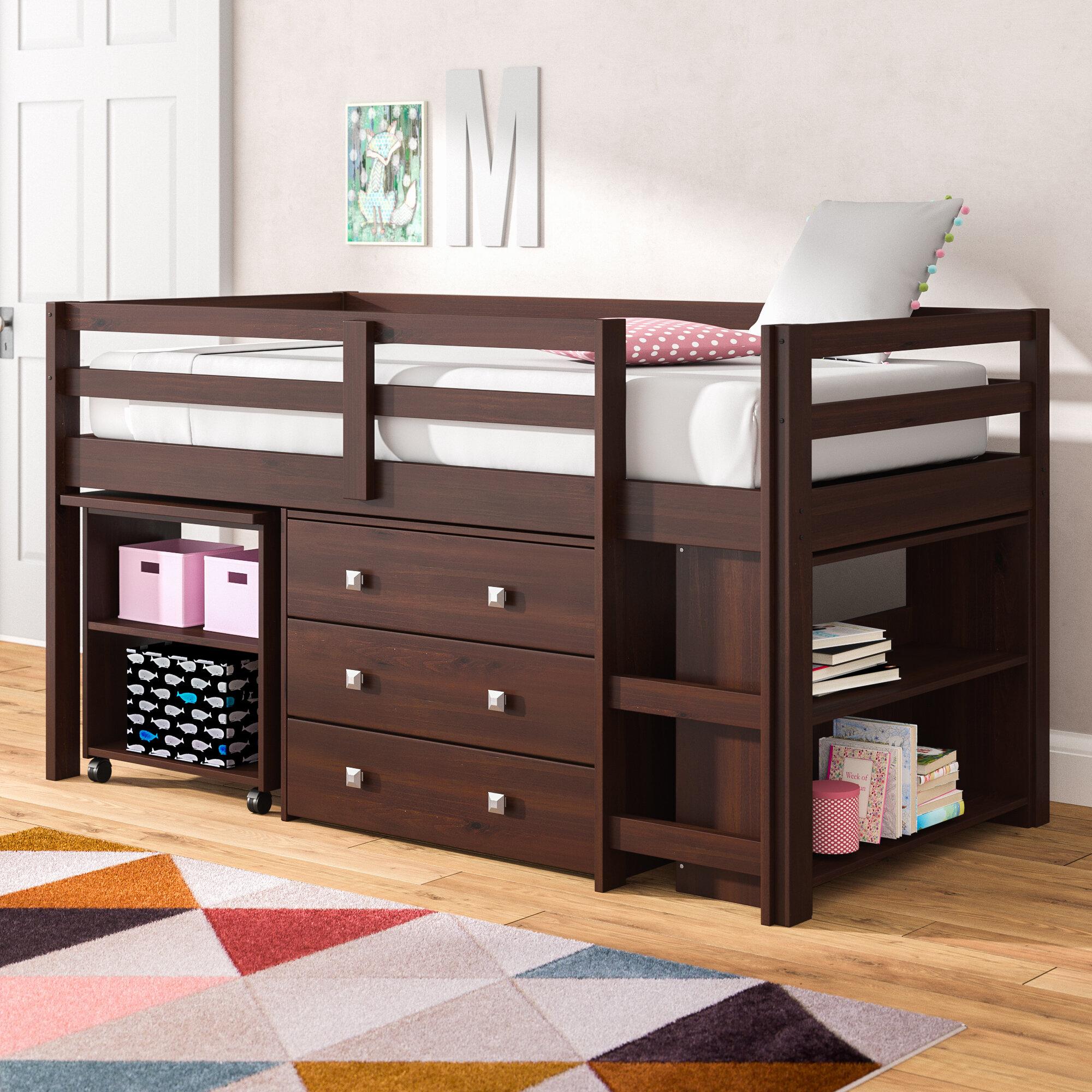 Viv Rae Senger Twin Low Loft Bed With