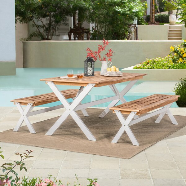 Sifuentes Picnic Bistro 3 Piece Dining Set by Winston Porter