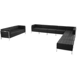 Bouffard Melrose Modular Sectional Sofa Set with Ottoman
