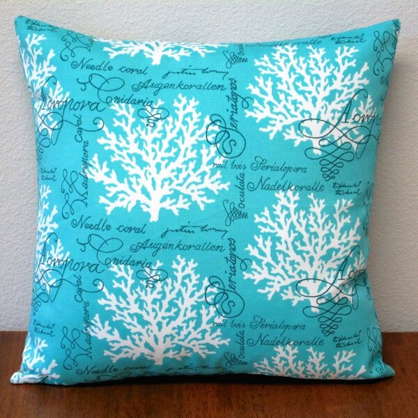 Sea Reef Pillow Cover (Set of 2) by Artisan Pillows