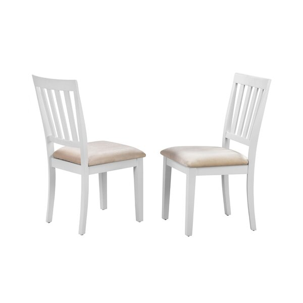 Milagros Upholstered Dining Chair (Set of 2) by August Grove August Grove