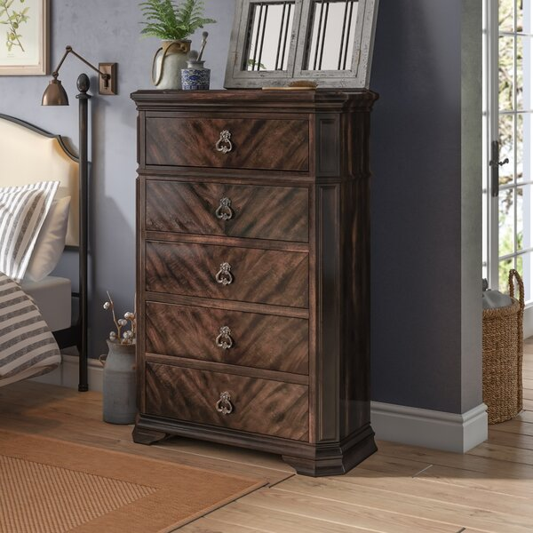 Rudisill 5 Drawer Chest by Astoria Grand