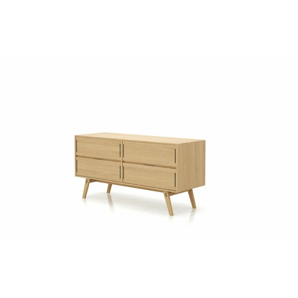 Badini 4 Drawer Double Dresser by Latitude Run