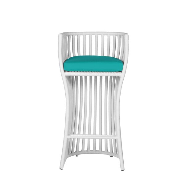 Napa 31-inch Patio Bar Stool with Cushion by David Francis Furniture David Francis Furniture