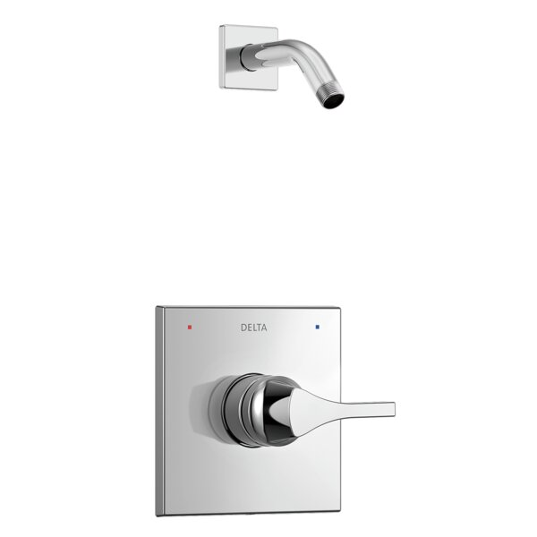 Zura Monitor 14 Series Shower Trim with Single Lever Handle by Delta