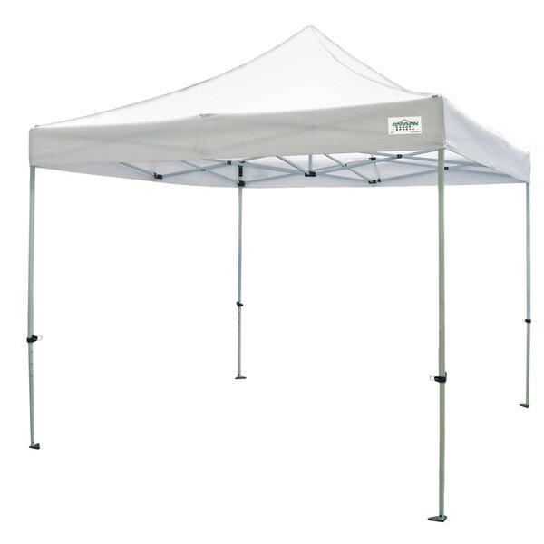 Titan 10 Ft. W x 10 Ft. D Pop-Up Canopy by Caravan Sports