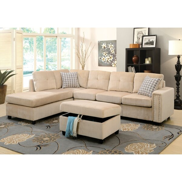 Ferebee Reversible Modular Sectional by Ebern Designs