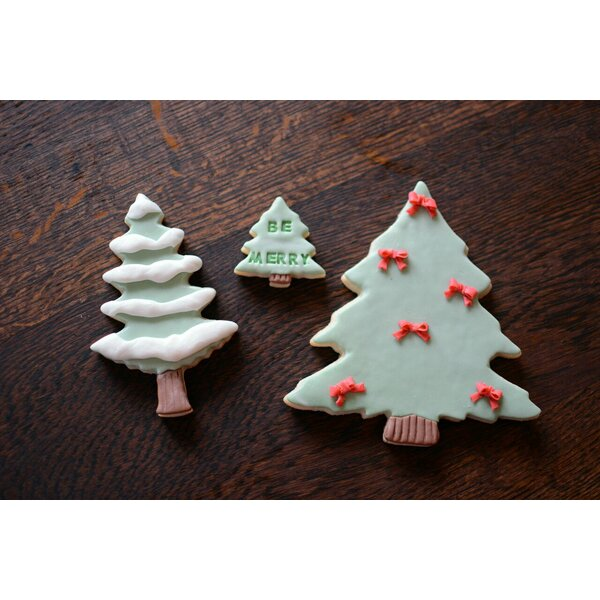 3 Piece Tree Cookie Cutter Set by R & M International Corp.