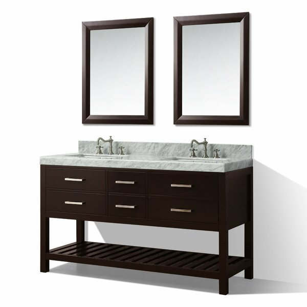 Jauss 60 Double Bath Vanity Set by Mercer41
