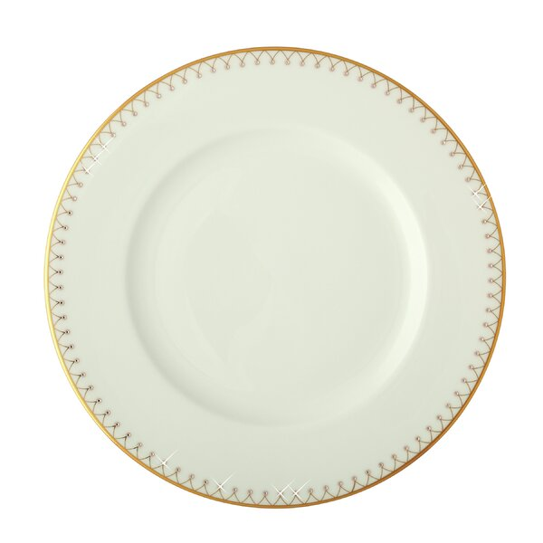 Princess Gold Bone China 10.5 Dinner Plate