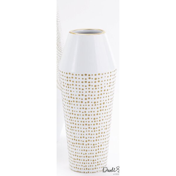 Ballinger Cylinder Medium Vase by DwellStudio