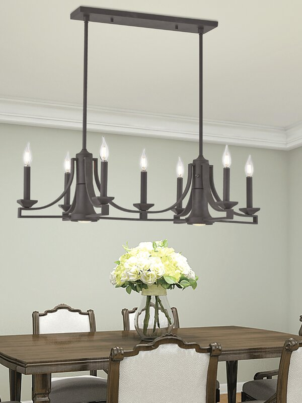 Darby Home Co Dedham Linear 7-Light Kitchen Island Pendant & Reviews ...