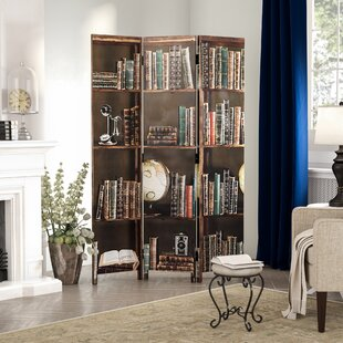 Superb Sneed Books 3 Panel Room Divider