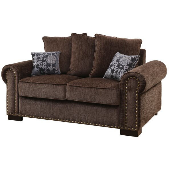Gunilla Chenille Loveseat by Darby Home Co