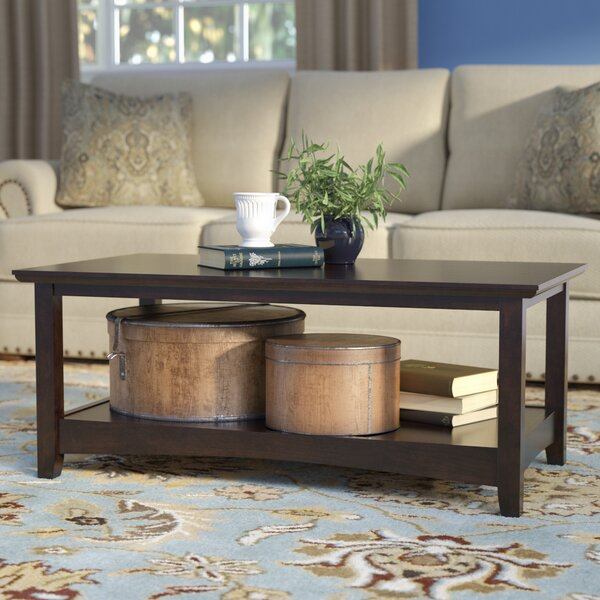 Rossendale Coffee Table by Three Posts