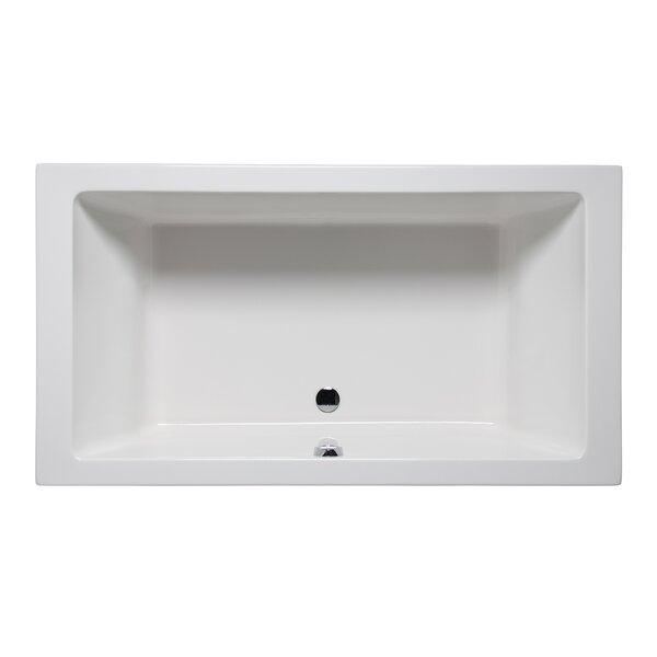 Vivo 66 x 42 Drop in Soaking Bathtub by Americh